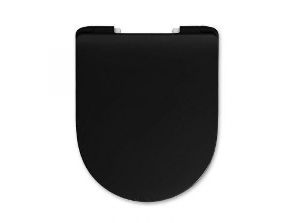 WC sjedalo (daska) soft close TURAVIT Rondo Ray Premium black T-RND RAY BLACK