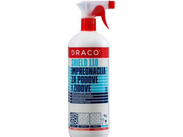 Zaštitna impregnacija za podove i zidove DRACO Shield 110 1l