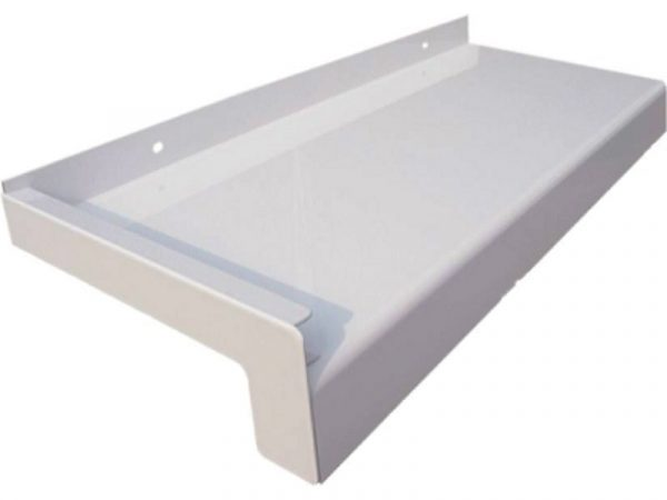 Prozorska vanjska aluminijska klupica bijela GUTMANN GS 25 RAL9016