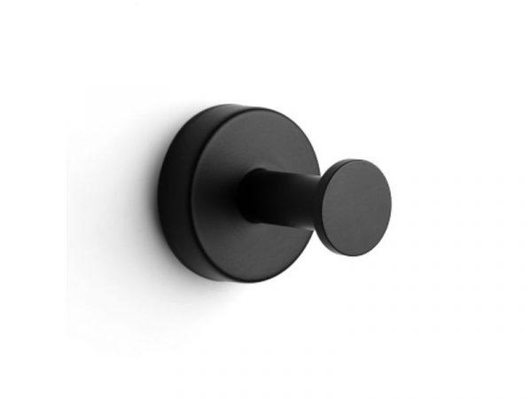 Vješalica jednostruka UNO matt black 12 01 55