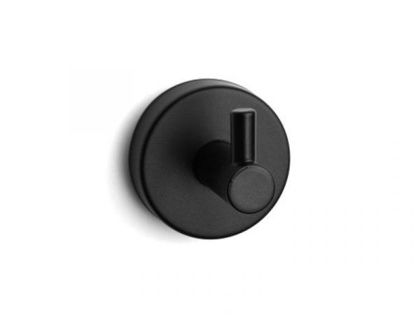 Vješalica jednostruka UNO matt black 12 09 55