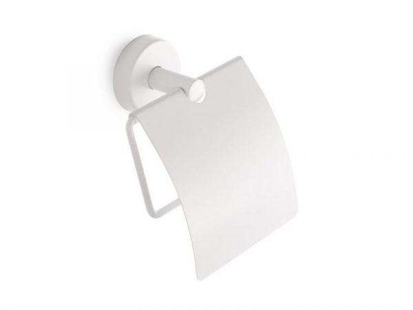 Držač WC papira s poklopcem UNO white matt 14 03 66