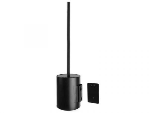 Držač WC četke viseći kratki EXTRA matt black 96 77 55